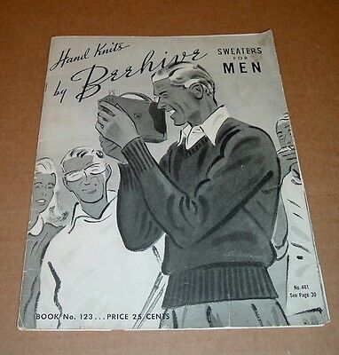 Beehive Sweaters Old CLOTHING CATALOG 1942 Advertising Booklet Hand Knit