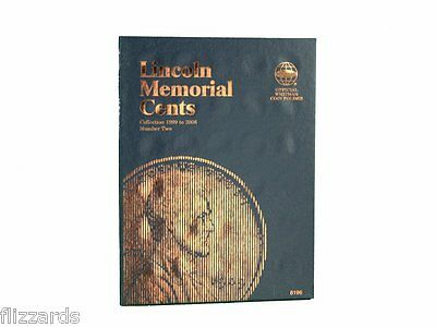 Lincoln Memorial Cent # 2, 1999-2009  Coin Folder Album by Whitman