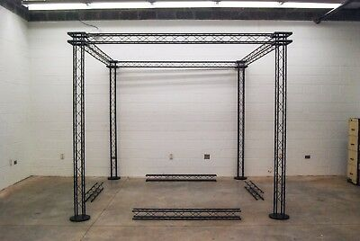 Trade Show Booth: ZERO Display Truss & Brightman Lighting System