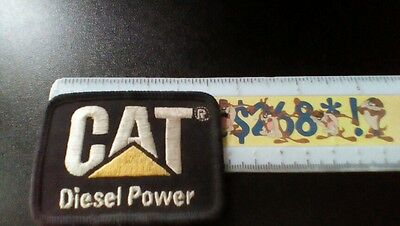 "Vintage Caterpillar Cat Diesel Power Embroidered Patch - 2 1/2""x1 1/2"""