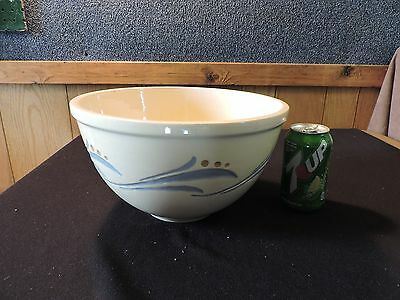 Early Roseville Ink Stamp Mixing Bowl (#344) Price Reduced For Great Offer