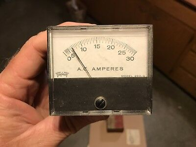 Triplet Ac Meter Gauge Display Model 230-G 0-30 Amps