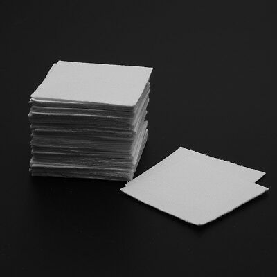[NEW] 50Pcs 8x8cm Bullseye Hot Pot Thinfire Kiln Paper for DIY Glass Fusing