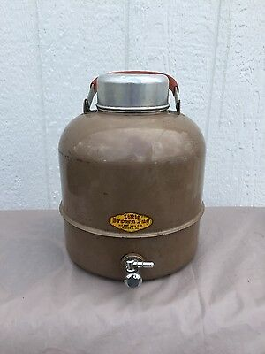 Vintage Little Brown Jug with spigot