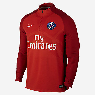 Nike PARIS SAINT-GERMAIN AEROSWIFT STRIKE DRILL MENS FOOTBALL TOP-S,M,L,XL Or2XL
