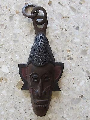 """African Carved Wood Mask - 18"""" Tall, Unique, Highly Detailed - See The Photos!"""