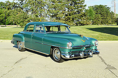 "1952 Chrysler Saratoga 4 door sedan ""Brand new"" restoration. Over $75,000 spent. 54,000 mile breathtaking example."