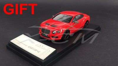 Car Model Almost Real Bentley Continental GT3-R 2015 1:43 (Red) + SMALL GIFT!!