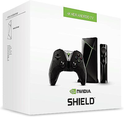 NVIDIA SHIELD Gaming & TV Streaming Media Player 2nd Gen 16GB 4K HD 2018 *FAST*