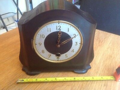 Smiths Clock Bakelite For Parts Or Repair