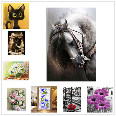 UK DIY 5D Diamond Painting Cross Stitch Crystal Sets Embroidery Room Home Decor