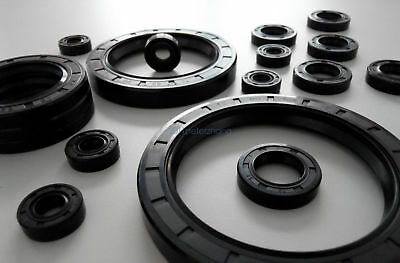 Shaft Oil Seal TC10  ID=10mm NBR Oil Seal Double Lip Shaft Seal OD=15mm to 19mm