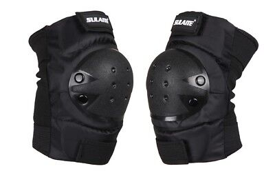 AU Knee Pads Skateboard Bicycle Bike Skate Scooter Cycling Protective Gear Black