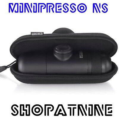 NEW WACACO MINIPRESSO COFFEE MACHINE NESPRESSO + CASE Portable Espresso Maker