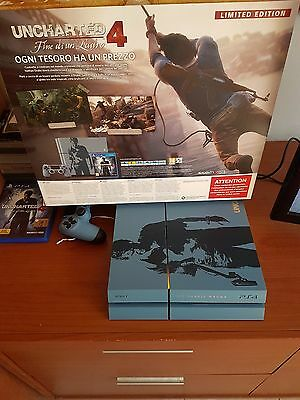 SONY Console Playstation 4 1 Tb + Gioco Uncharted 4 Limited Edition Bundle