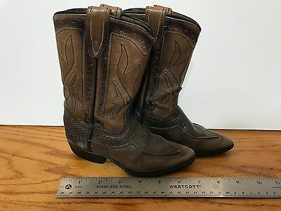 Vintage Child's Cowboy Boots Wear Collect Craft Cavort Cool LOOK 18-602