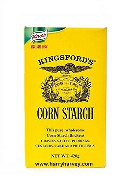 Kingsford's Corn Starch Knorr Maize Flour - gravy custard pudding cake pie 420g