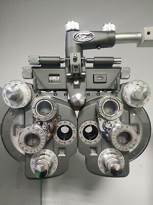 Manual Optometry Refractor Optical Vision Tester Device Phoropter with Head Rest