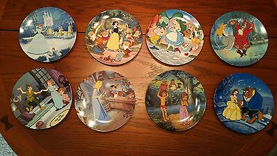 NIB:  Knowles Disney's Treasured Moments Collector Plates (Set of 8)