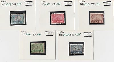US Back of Book (BOB) Battleship Documentary/Proprietary Stamp Collection Lot