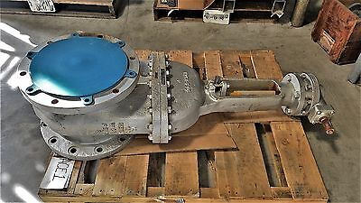 "Neway 12"" 150# Wcb Flanged Gate Valve, Gear Operated, Fig# 12G1Ra8-G-000"