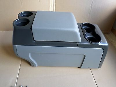 04-08 Ford F150 Center Console Stand Alone Console Cup Holder Armrest Gray 2008