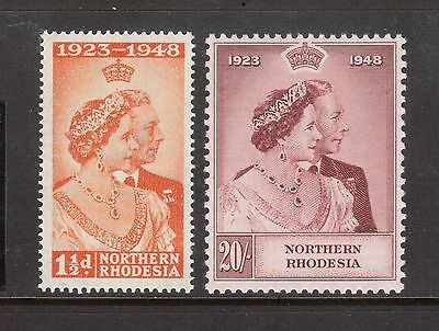 Northern Rhodesia #48 - #49 Very Fine Mint Lightly Hinged Set