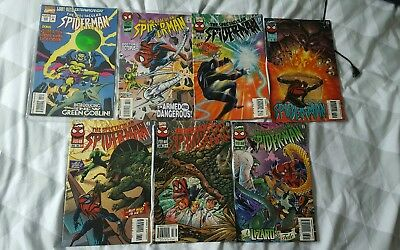 MIXED LOT The Spectacular Spider-Man (1996) all FN