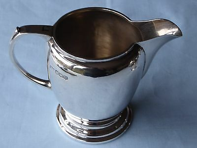 Sterling Silver Art Deco Cream Jug Mappin & Webb Sheffield 1938 145g