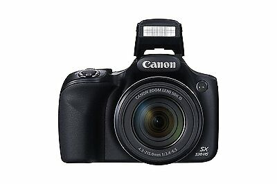 Canon PowerShot SX530, 16 MP 4x digital zoom w/ built in flash - HS 9779B001