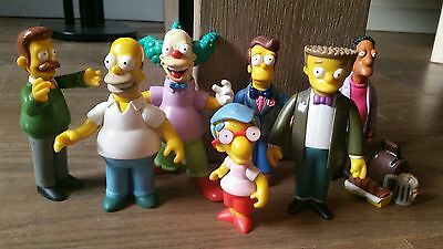 Simpsons playmates wos figures lot