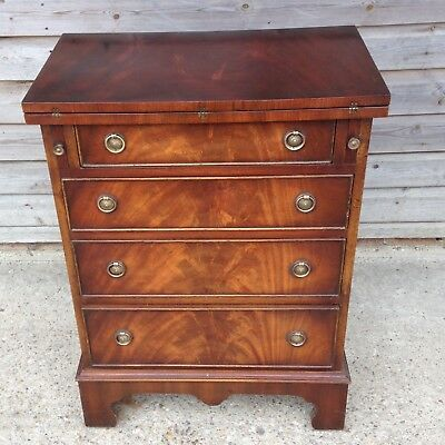 A Mahogany Bachelors Chest By Reprodux