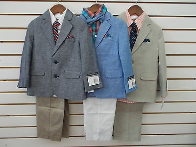 Boys Nautica $86 - $89.50 Assorted 4pc Suits Size 5 - 6