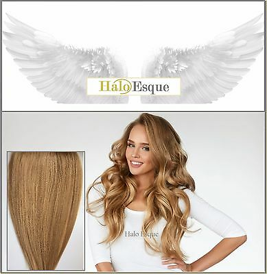 Halo Esque Secret Wire Remy Hair Extensions 200g Beige Blonde High Quality!