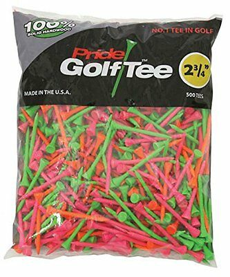 2-3/4 Inch Pride Golf Tees (500-Count)