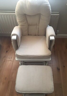 Serenity Nursing Rocking/Gliding Reclining Chair & Foot Stool