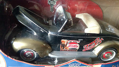 1940 Ford Replica Die Cast Metal Car By Pepsi 1:18 Scale Its A Bank