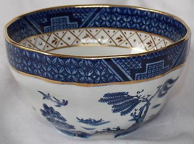 Booths Real Old Willow Sugar Bowl    A 8025