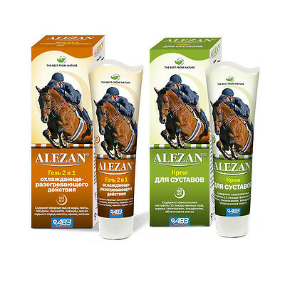 ALEZAN Сream for joints  Gel 2in1 with cooling and warming effect 100ml АЛЕЗАН