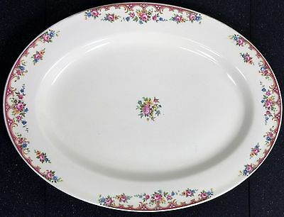 Vintage Edwin M. Knowles china serving platter 38-10
