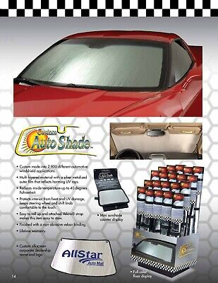 Introtech Roll-up Sunshade fits FORD Escape 2013-2019 w//out tech package