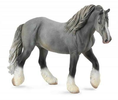 Breyer Horses Corral Pals Grey Shire Draft Horse Mare #88574