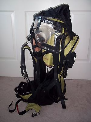 Sherpani Rumba Backcountry Hiking Child Baby Toddler Carrier Backpack w/ Canopy