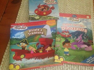 Disney Little Einstein Set of 2 Books and Musical CD