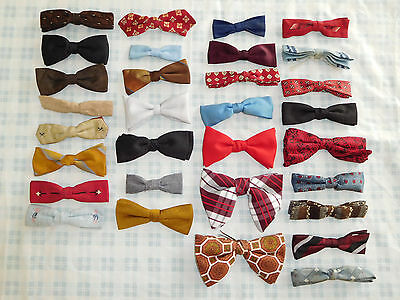 Lot of 31 Vintage Clip On Bow Tie Ormond Wembley Butterfly +
