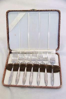 Set of 7 Stainless Steel Forks Grosvenor Plate #12543