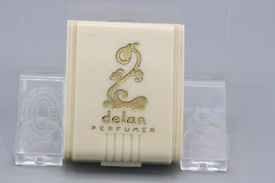 Vintage 20s Delan Metal Perfumizer in Celluloid Box Mini Purse Size Vanity