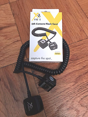 XIT Replacement OC-E3 Flash TTL Off-Camera Shoe Cord For Canon DSLR Flash