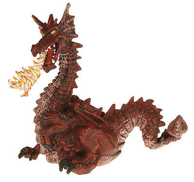 Brand New Papo Red Flame Dragon Tales & Legends 39016