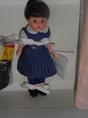 """Madame Alexander Doll  - 35645 Off To Class, 8""""H  MIB"""